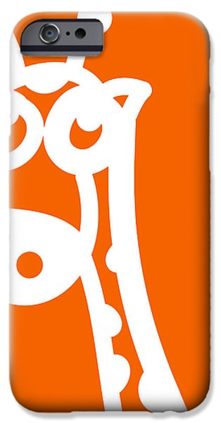 Cute Giraffe iPhone Case by Nursery Art