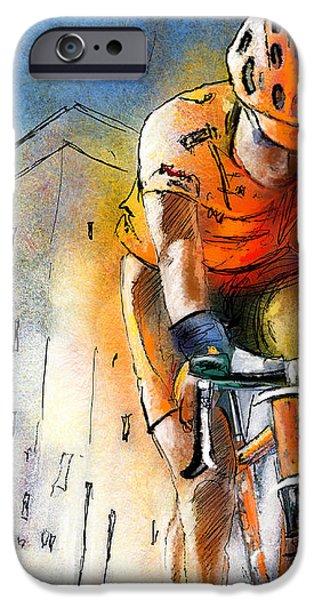 Cycloscape 01 iPhone Case by Miki De Goodaboom