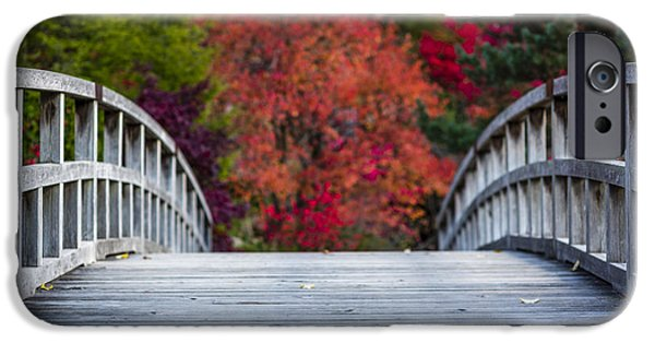 Asian iPhone Cases - Cypress Bridge iPhone Case by Sebastian Musial