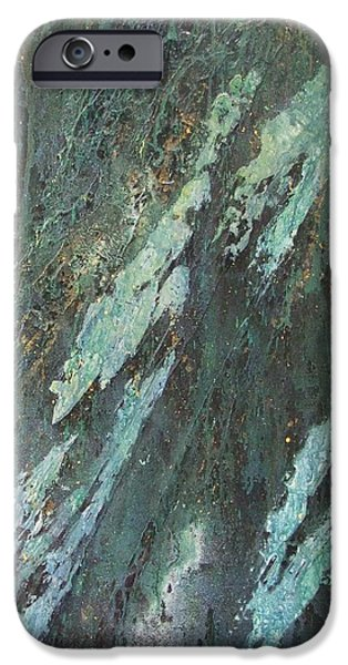 Cyprium Opus-001 iPhone Case by Pat Bullen-Whatling