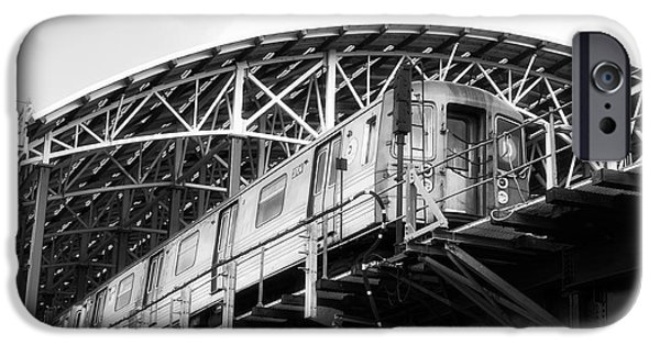 Raised Image iPhone Cases - D-Train iPhone Case by John Rizzuto