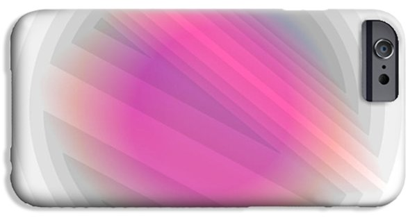 Modern Abstract iPhone Cases - Da 10d iPhone Case by  Otri  park