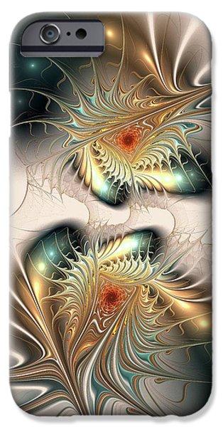 Spirit iPhone Cases - Daemons Within iPhone Case by Anastasiya Malakhova