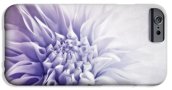 Flora iPhone Cases - Dahlia Sun iPhone Case by Priska Wettstein