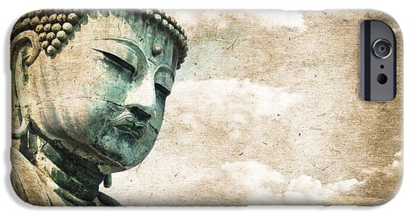 Buddhist iPhone Cases - Daibutsu iPhone Case by Delphimages Photo Creations