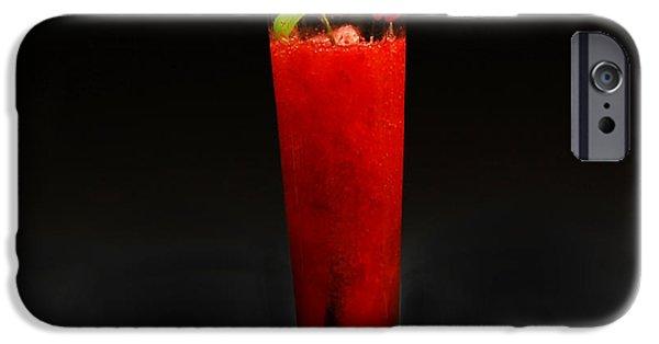Strawberry iPhone Cases - Daikiri iPhone Case by Gina Dsgn