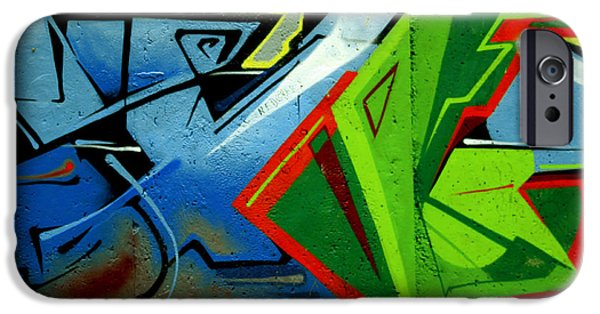 Abstract Expressionism Photographs iPhone Cases - Daily Art iPhone Case by Stefan Kuhn