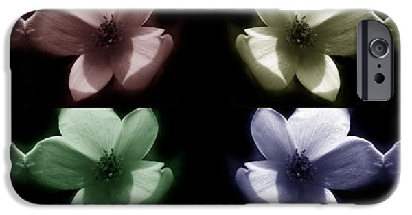 Abstract Digital Photographs iPhone Cases - Dainty Eight iPhone Case by Tina M Wenger