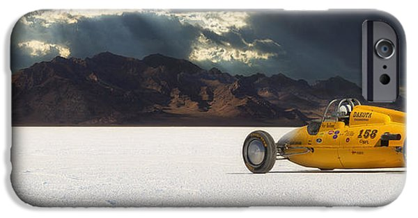 Racing Photographs iPhone Cases - Dakota 158 iPhone Case by Keith Berr
