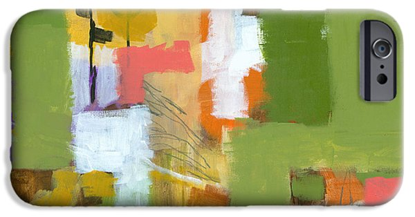 Abstract Expressionist iPhone Cases - Dakota Street 5 iPhone Case by Douglas Simonson