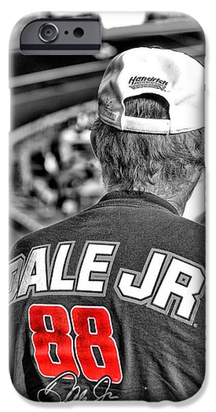 Dale Jr iPhone Case by Karol  Livote
