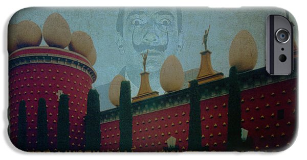 Painter Poster Photographs iPhone Cases - Dali Museum iPhone Case by Bill Jonas