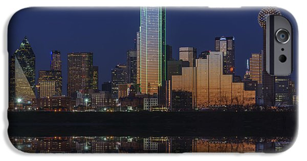 Recently Sold -  - Buildings iPhone Cases - Dallas Aglow iPhone Case by Rick Berk