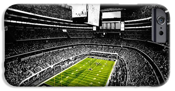Romo iPhone Cases - Dallas Cowboys Football Stadium iPhone Case by Brian Reaves