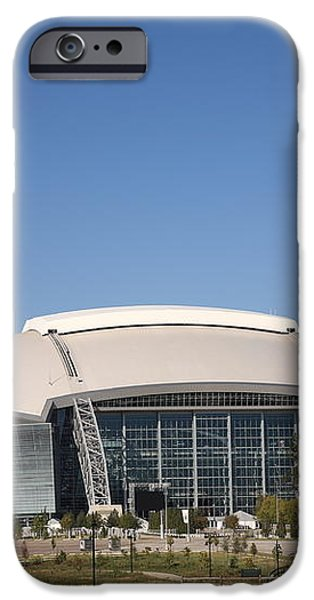 Dallas Cowboys Stadium iPhone Case by Frank Romeo