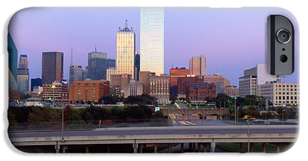 Finance iPhone Cases - Dallas Tx iPhone Case by Panoramic Images