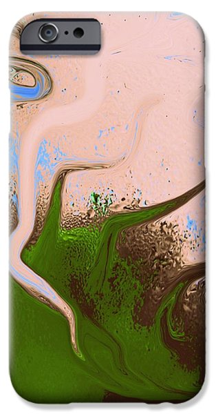 Dali Inspired iPhone Cases - Dally With Dali iPhone Case by Marcia Lee Jones