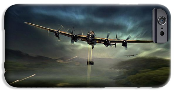 Wwi iPhone Cases - Dambusters iPhone Case by Peter Van Stigt