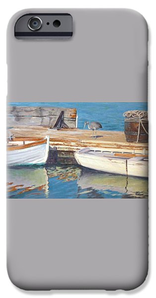 Dana Point Harbor Boats iPhone Case by Sharon Weaver