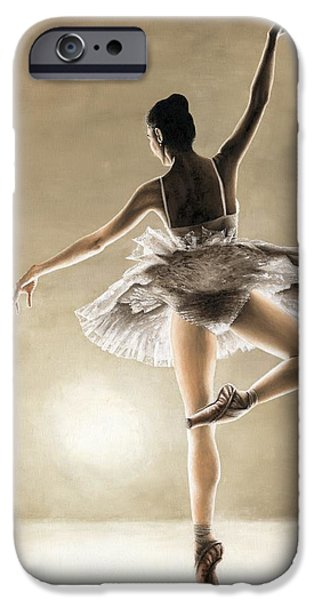 Drama iPhone Cases - Dance Away iPhone Case by Richard Young