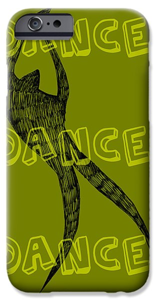 Dance Dance Dance iPhone Case by Michelle Calkins