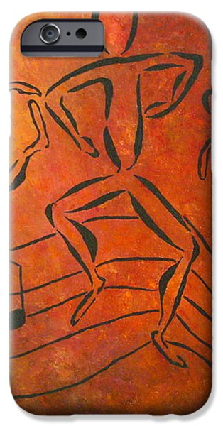 Dance Fever iPhone Case by Pamela Allegretto