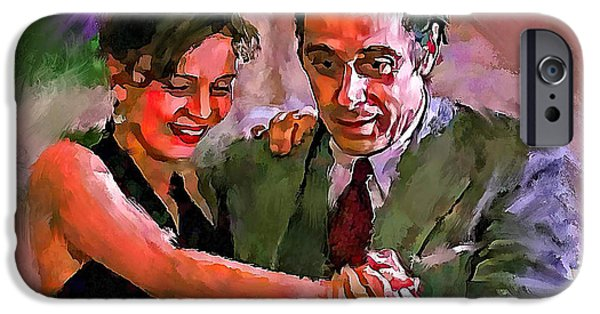Al Pacino iPhone Cases - Dance me to the end of Love 2 iPhone Case by Yury Malkov