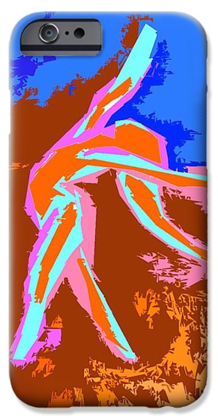 DANCE OF JOY 2 iPhone Case by Patrick J Murphy