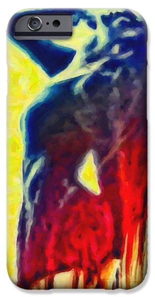 Hidden Desires iPhone Cases - Dance of Passion iPhone Case by Joe Misrasi
