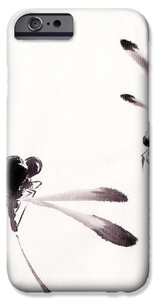 Dance of the Dragonflies iPhone Case by Oiyee  At Oystudio
