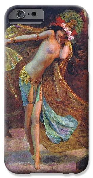 Dance of the Veils iPhone Case by Gaston Bussiere