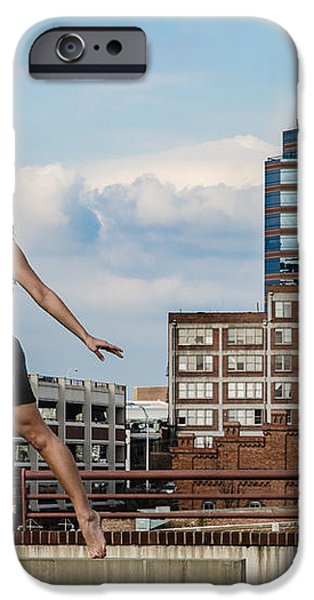 Dance the Durham Skyline iPhone Case by Jh Photos