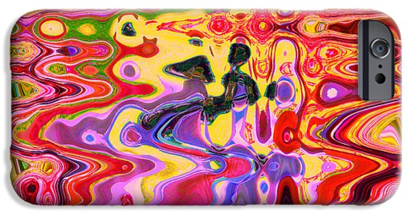 Ann Johndro-collins iPhone Cases - Dance With Me		 iPhone Case by Ann Johndro-Collins