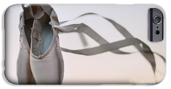 Party Invite iPhone Cases - Dance With The Wind iPhone Case by Laura  Fasulo