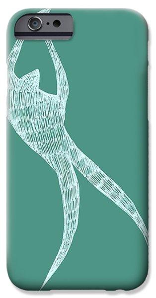 Dancer iPhone Case by Michelle Calkins
