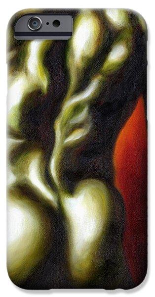 Dancer two iPhone Case by Hiroko Sakai