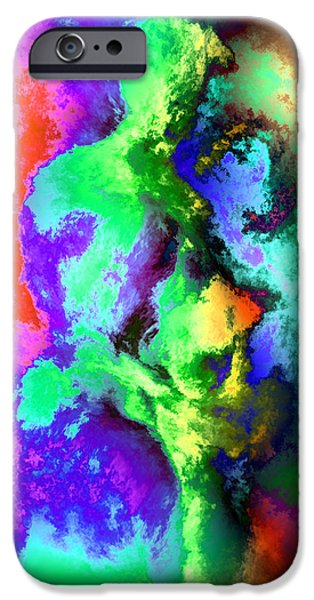 Dancers iPhone Case by Kurt Van Wagner