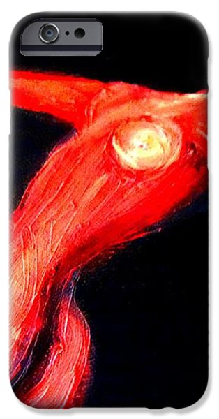 Dancing in darkness iPhone Case by Hilde Widerberg