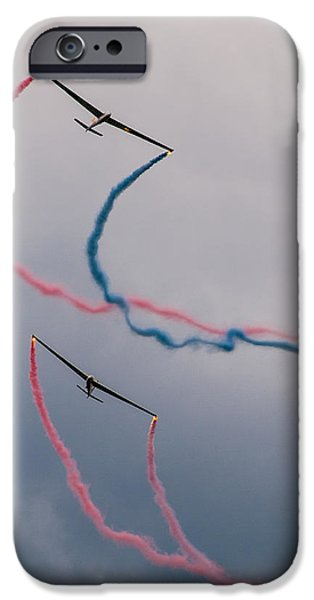 Glider iPhone Cases - Dancing in the air iPhone Case by Davorin Mance