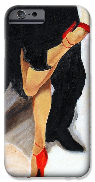 Recently Sold -  - Couple iPhone Cases - Dancing Legs II iPhone Case by Sheri  Chakamian