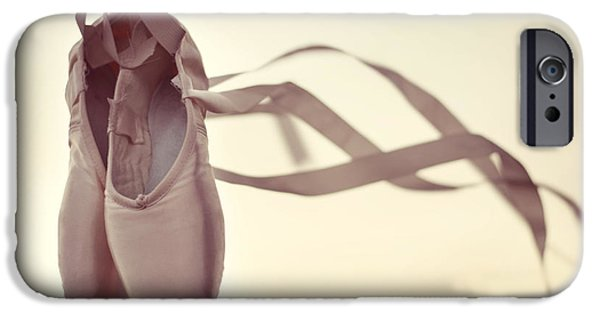Ballet Dancers Photographs iPhone Cases - Dancing On The Wind iPhone Case by Laura  Fasulo