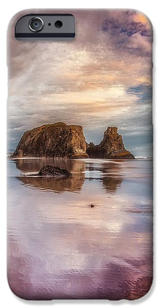 Dancing Sunset iPhone Case by Darren  White