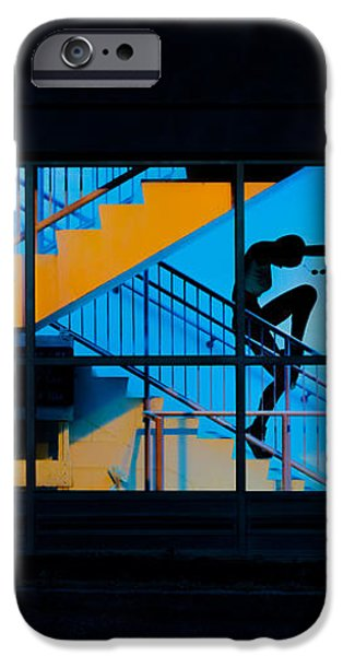 Dancing To Floor G Night People iPhone Case by Bob Orsillo