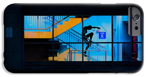 Young iPhone Cases - Dancing To Floor G Night People iPhone Case by Bob Orsillo