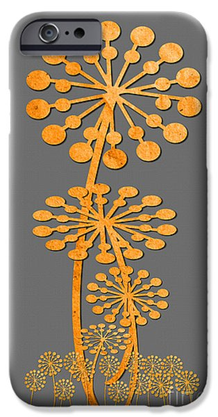 Multimedia iPhone Cases - Dandelion Blooms iPhone Case by Tina M Wenger