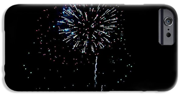Fourth Of July iPhone Cases - Dandelion FW iPhone Case by Teresa Blanton