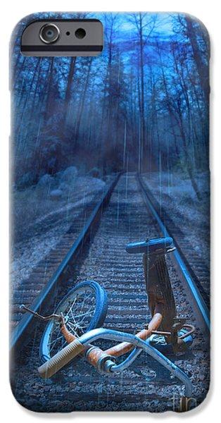 Missing Child iPhone Cases - Danger iPhone Case by Danilo Piccioni