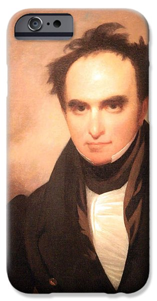 Cora Wandel iPhone Cases - Daniel Webster The Great Orator Etc. iPhone Case by Cora Wandel