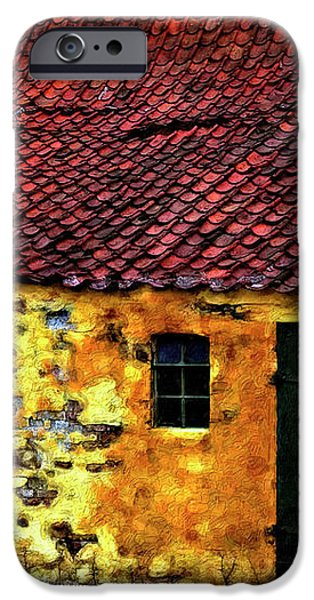 Danish Barn impasto version iPhone Case by Steve Harrington