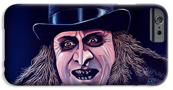 Nest iPhone Cases - Danny de Vito as the Penguin iPhone Case by Paul  Meijering